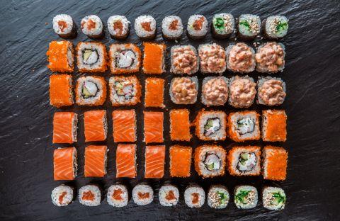 Почему дети любят суши?